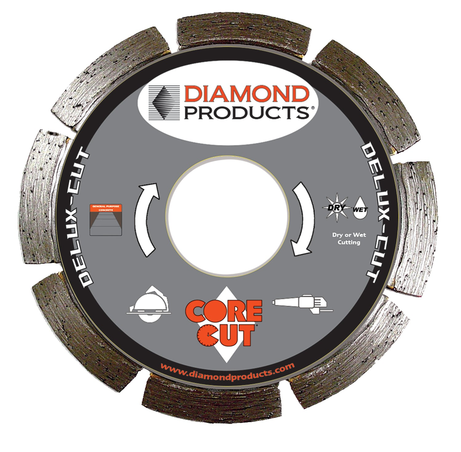 "4-1/2"" x .080 x 7/8"" Delux-Cut Small Diameter Blade"