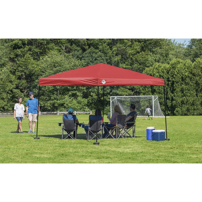 Quik Shade 10 x 10 ft. Straight Leg Canopy, Red