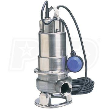 "Honda WSP50AA - 110 GPM (2"") Submersible Trash Pump w/ Float Switch"