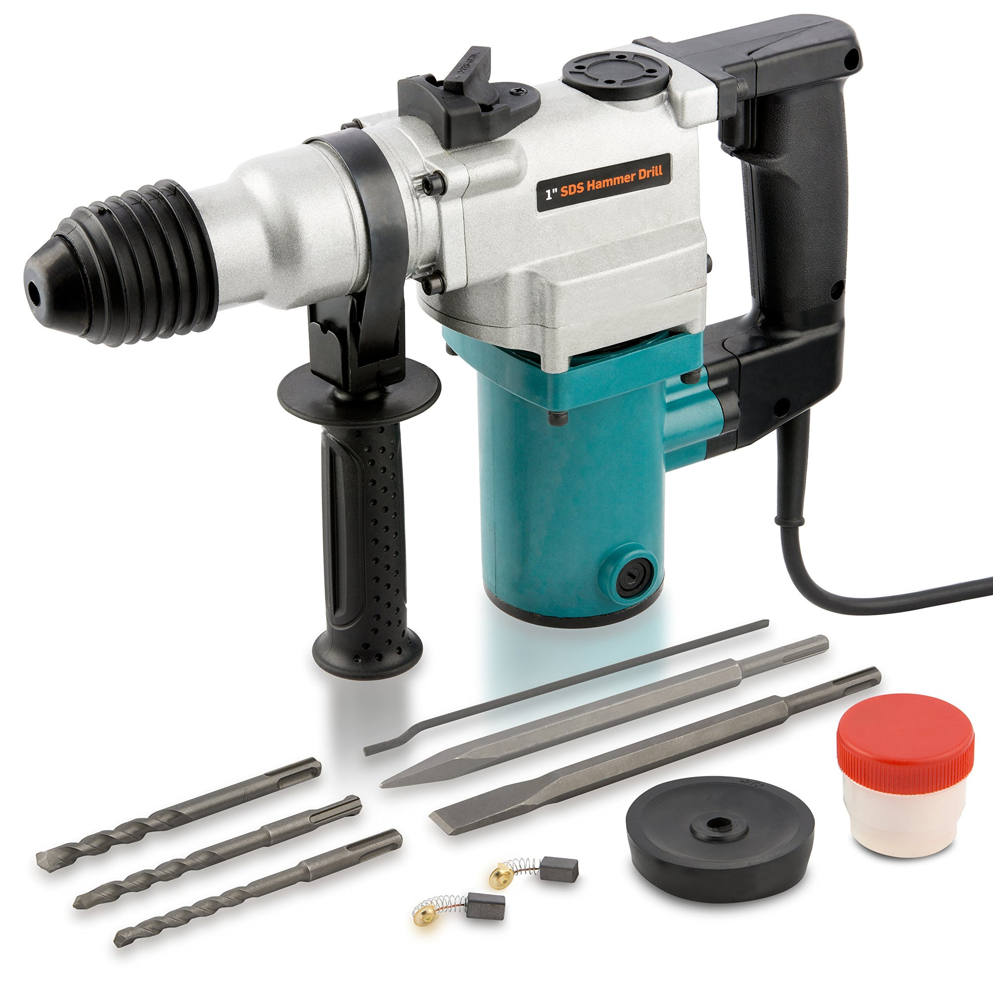 "1"" Electric Rotary Hammer Drill, 4.7 Amp 