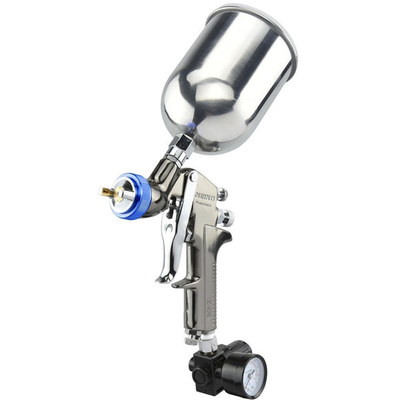 HVLP Gravity Feed Air Spray Gun | 1.3mm Nozzle Size | 600cc Aluminum Cup