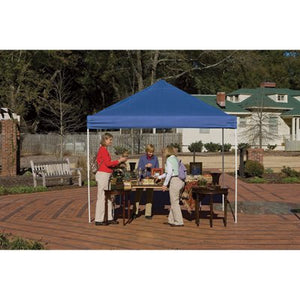 huge discount 0a9e6 f7416 ShelterLogic Pop-Up Canopy - 10ft. x 10ft., Open Top, Straight Leg, Blue,  Model# 22559