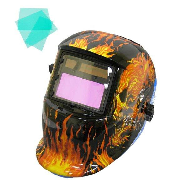 WELDING HELMET AUTOMATIC MMA /MAG MIG /TIG SWITCH GHOSTRIDER