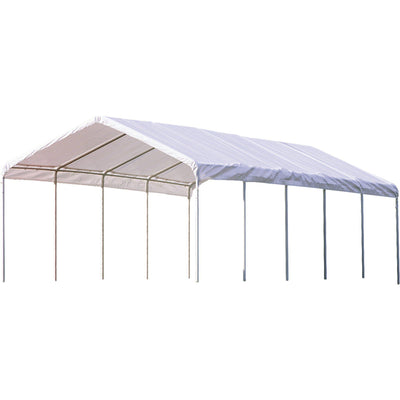 ShelterLogic SuperMax Canopy, White, 10 x 20 ft.