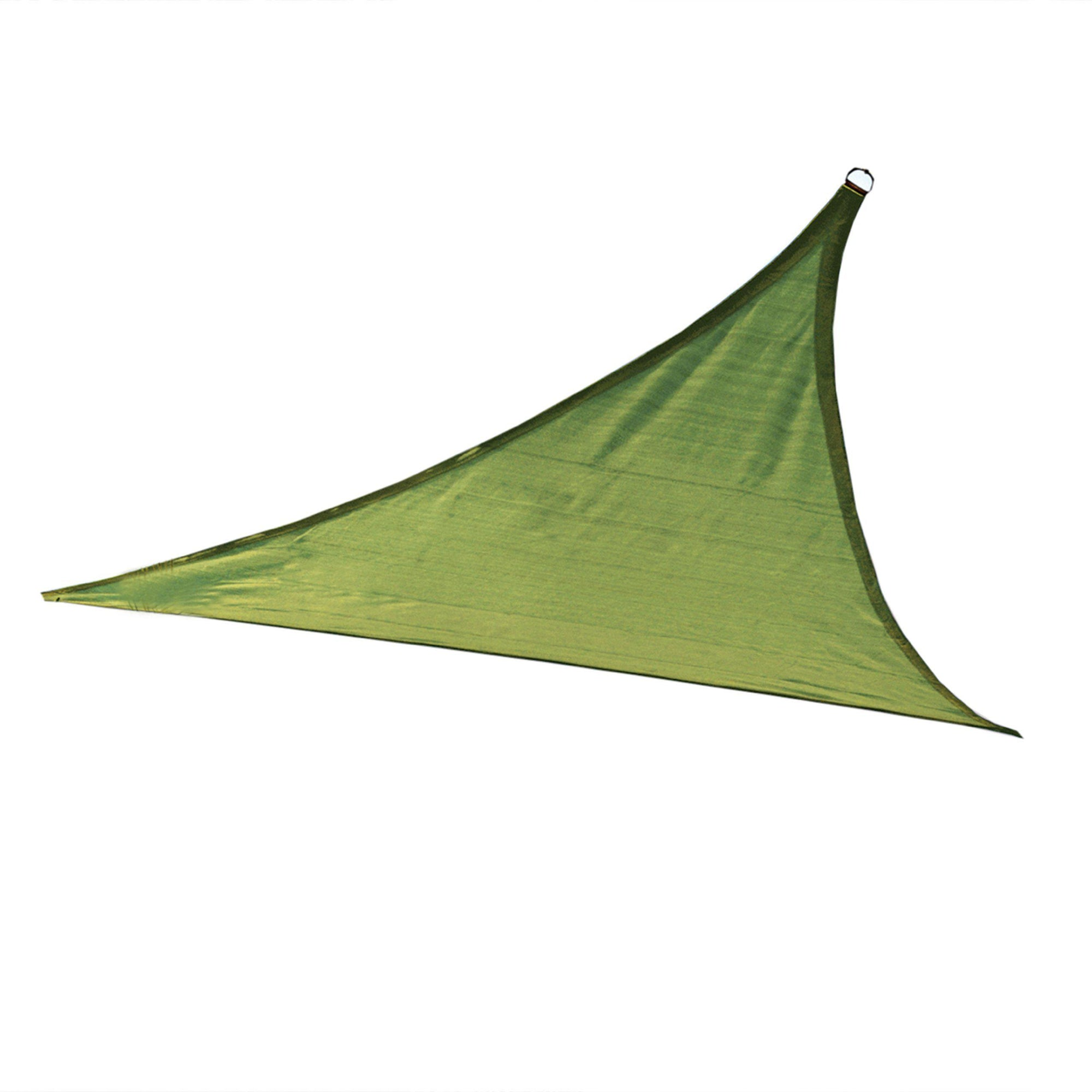 ShelterLogic Triangle Shade Sail, Lime Green, 16 x 16 x 16 ft.