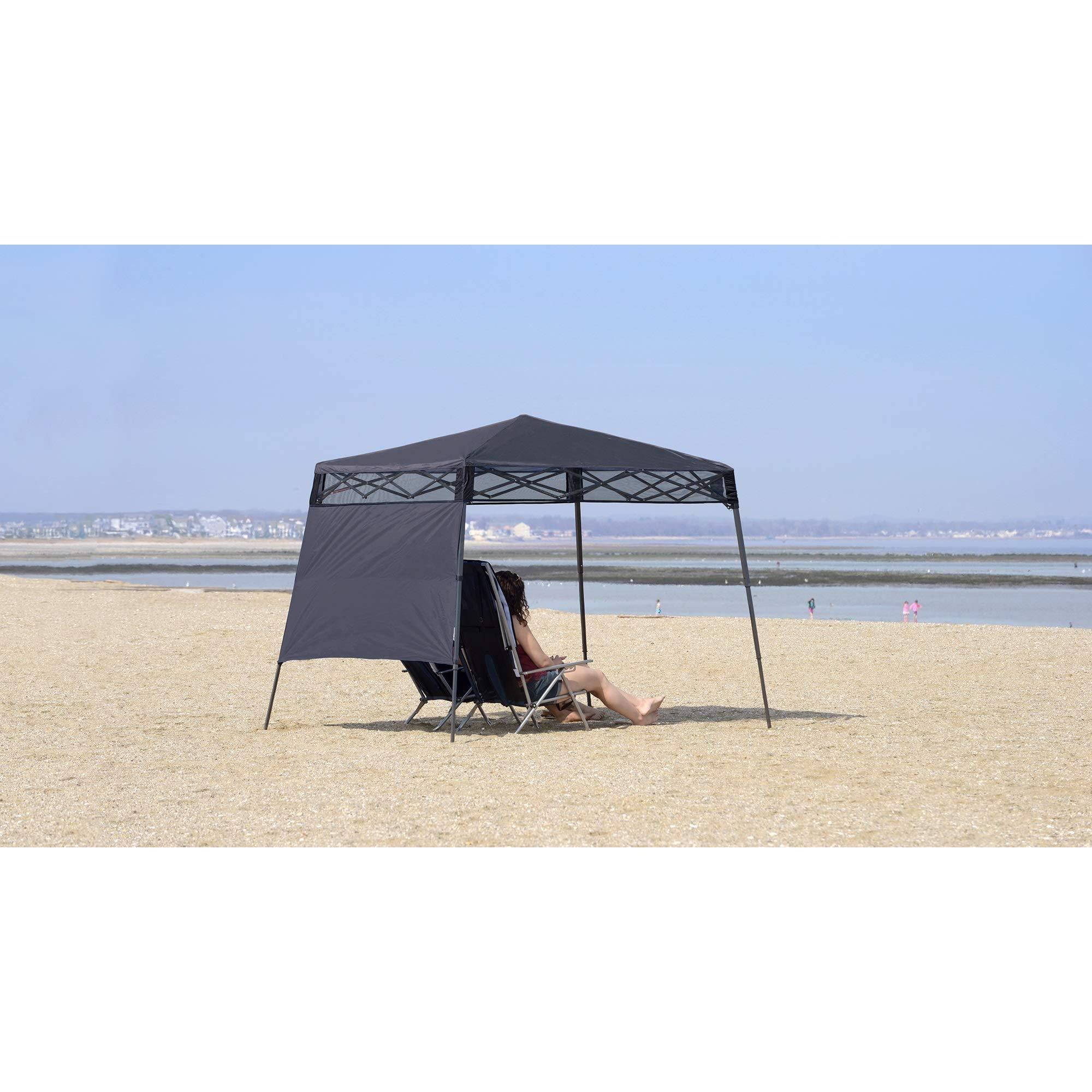 Quik Shade 7 X 7 Go Hybrid Pop Up Compact And Lightweight Slant Leg California Tools And Equipment