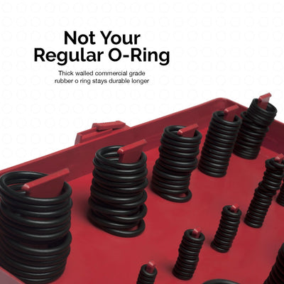 419pc Universal O-Ring Assortment Set | Metric Kit Automotive Seal Rubber Gasket
