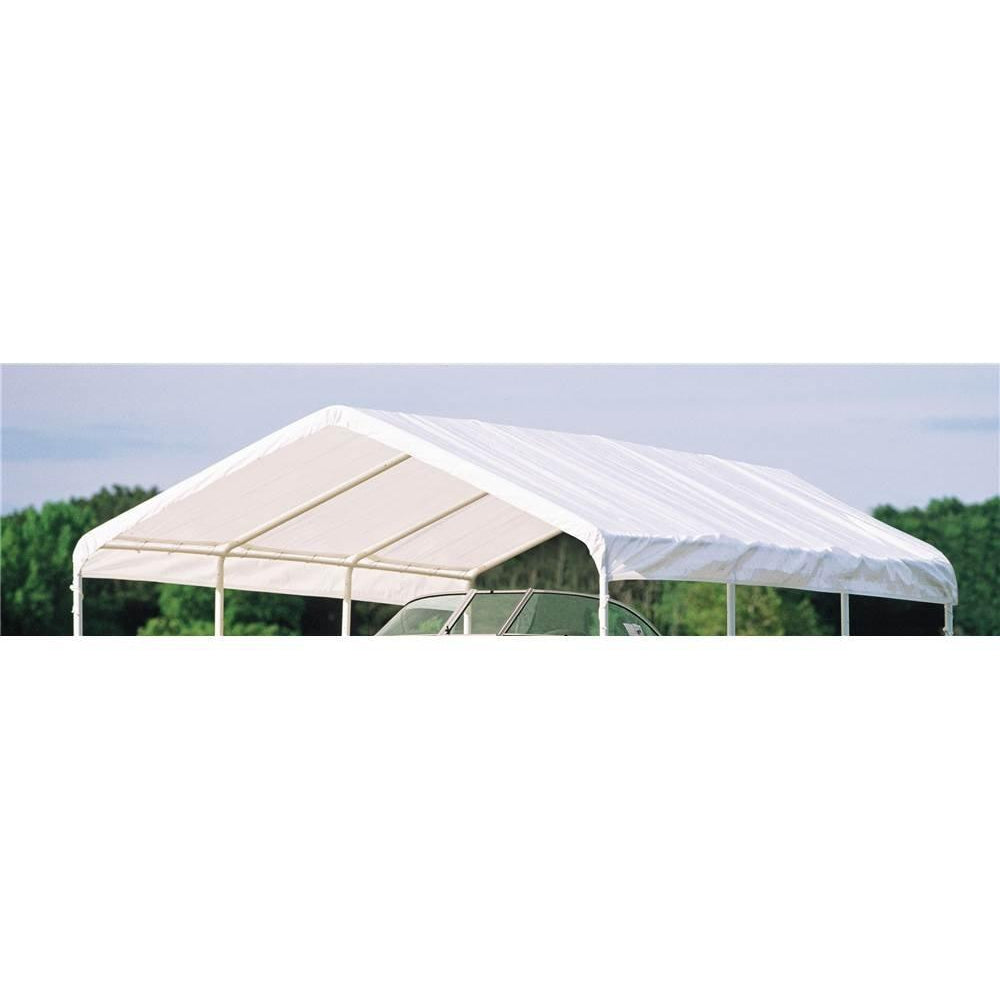 "ShelterLogic 1226 White Canopy Replacement Cover, Fits 2"" Frame"