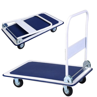 660LB Folding Foldable Platform Hand Truck Utility Folding Truck Cart Dolly New