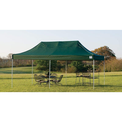 ShelterLogic Straight Leg Pop-Up Canopy with Roller Bag, 10 x 20 ft.