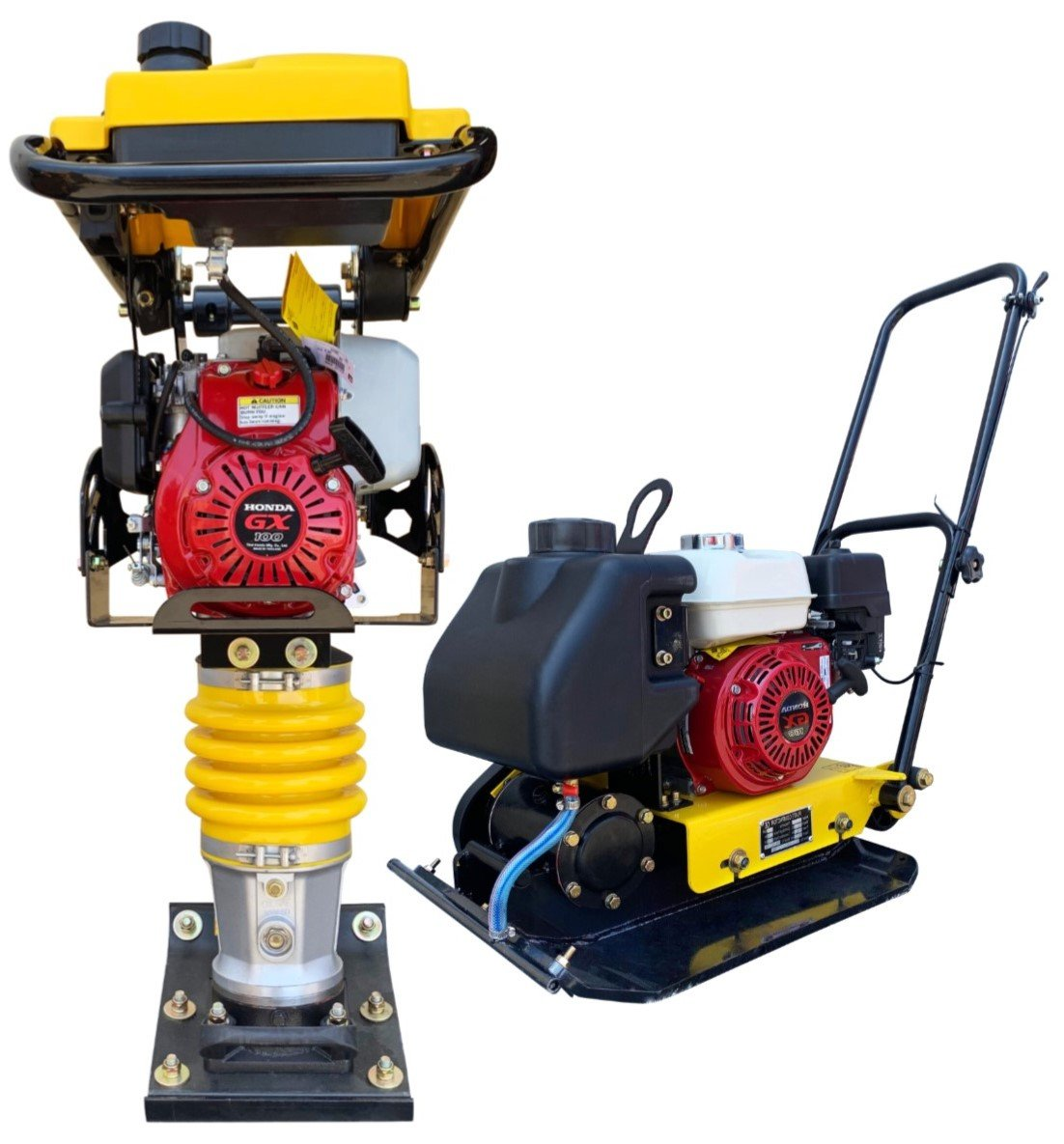 Honda Tamper Rammer  AND Plate Compactor Combo!! EPA Jumping Jack 3 Year