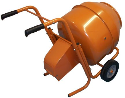 8 Cubic FT Wheelbarrow Type Electric Cement Mixer Portable Concrete Mixing Mortar