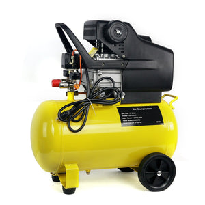 3.5HP 10-Gallon Direct Drive Pneumatic Portable Horizontal Air Compressor With Tank