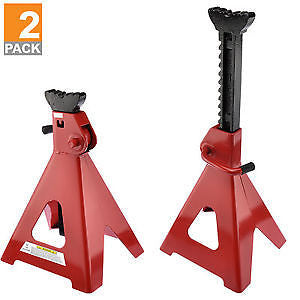12 Ton Jack Stand | Ratcheting Pair Heavy Duty Lift Lock