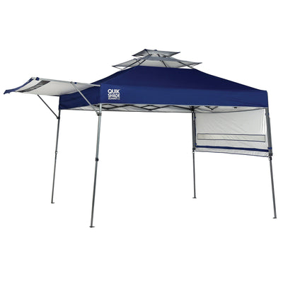 Quik Shade Summit Instant Canopy with Adjustable Dual Half Awnings