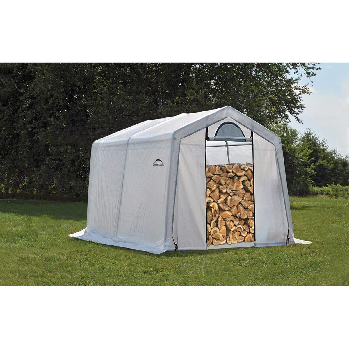 ShelterLogic Firewood Seasoning Shed, 10 x 10 x 8 ft.