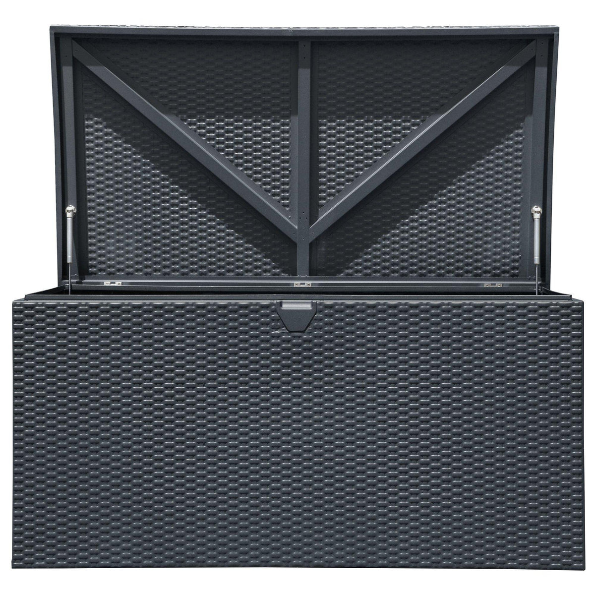 Arrow Spacemaker 134 Gallon Steel Deck Box, Anthracite