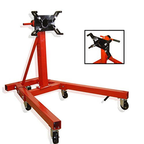 2000 Lb. Engine Stand Folding Motor Hoist Dolly Mover Auto Repair Rebuild Jack