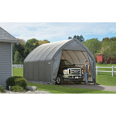 ShelterLogic Garage-in-a-Box SUV/Truck Shelter, Grey, 13 x 20 x 12 ft.