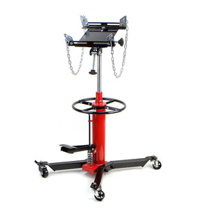 1/2 TON Transmission Jack Double Stage Hydraulic w/ 360 for car lift