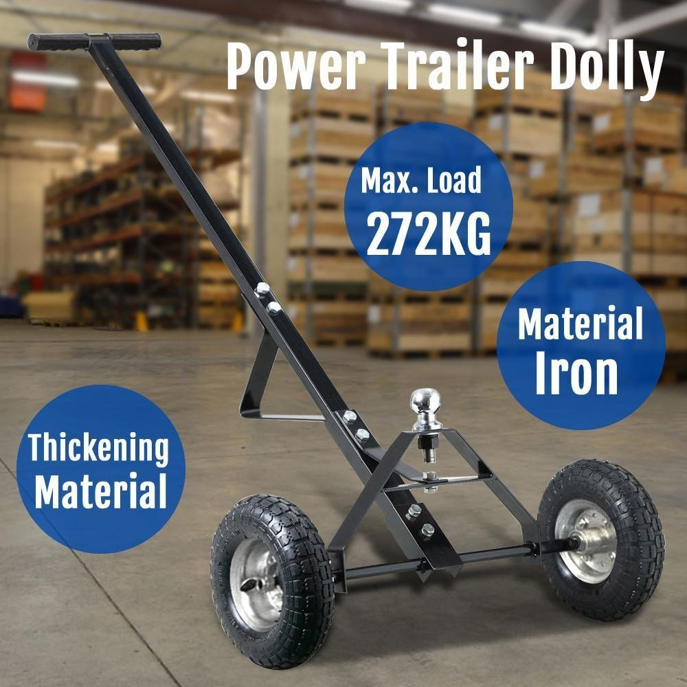 New 600lb HEAVY DUTY Utility Trailer Mover Hitch Boat Jet Ski Camper Hand Dolly
