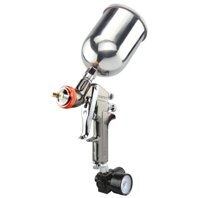 HVLP Gravity Feed Air Spray Gun | 2.0mm Nozzle Size | 600cc Aluminum Cup