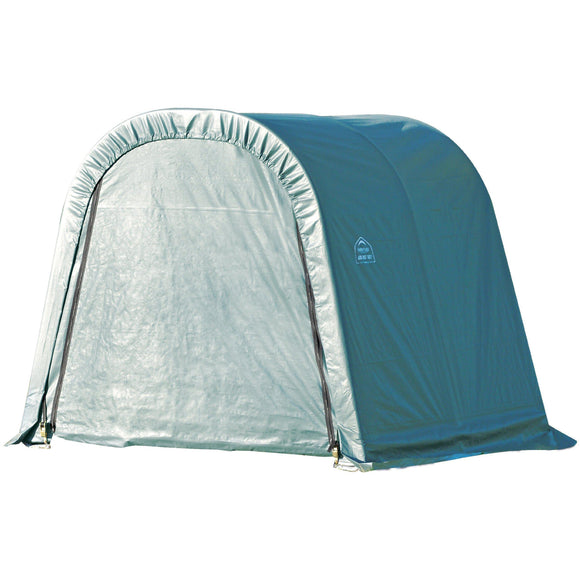 ShelterLogic 77822 Green 10'x8'x10' Round Style Shelter