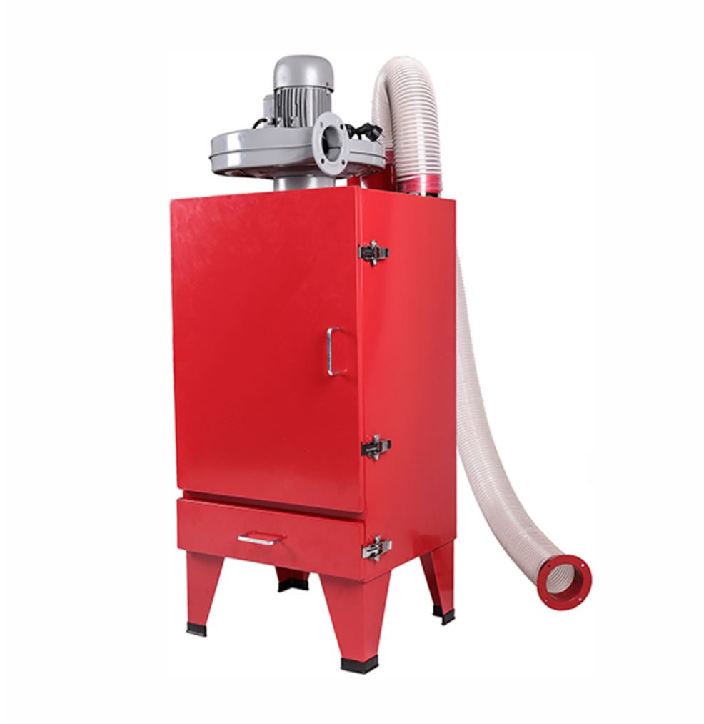 Sand Blast Cyclone Dust Collector & Vacuum For Industrial Cabinet Sandblaster 110V