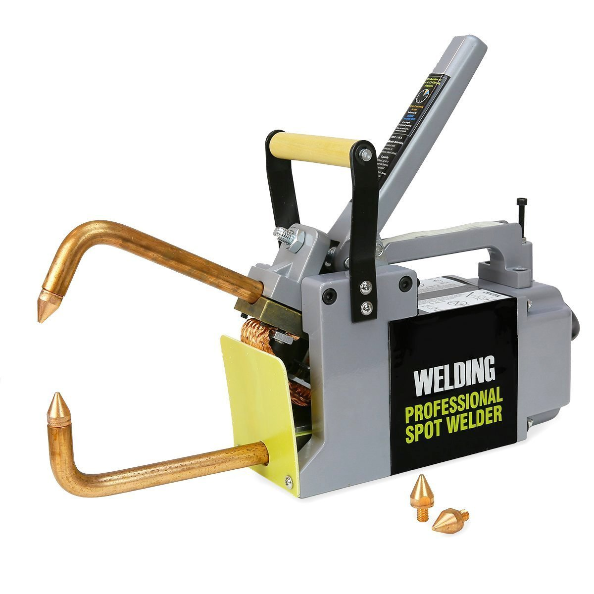"Professional Electric Electric Spot Welder 1/8"" Single Phase 120-Volt Portable Welding Gun"