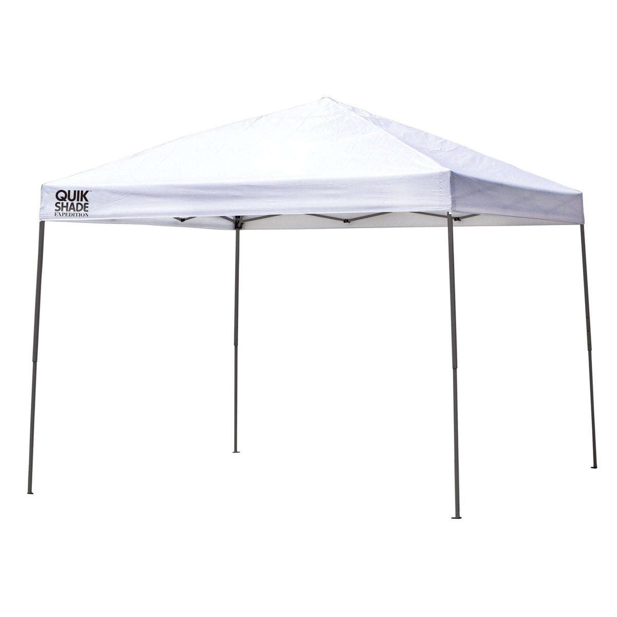 Quik Shade Expedition 10 x 10 ft. Straight Leg Canopy, White