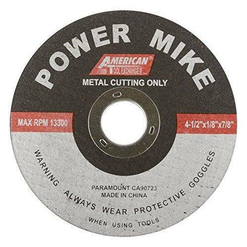 "40151 4-1/2""x 1/8"" x 7/8"" Cut Off Wheel 5 pc set"