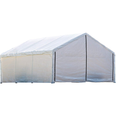 ShelterLogic SuperMax Fire Rated Canopy Enclosure Kit, 18  30 ft. (Frame and Canopy Sold Separately)