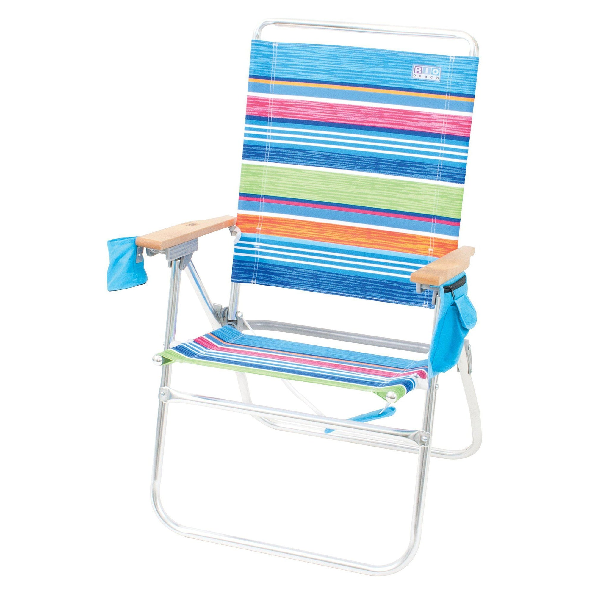 Rio Beach Hi-Boy High Seat 17 Folding Beach Chair