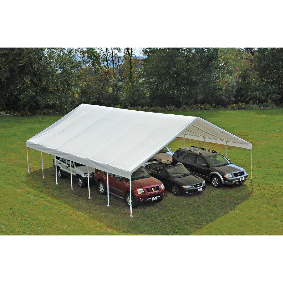 ShelterLogic UltraMax Big Country Canopy, White, 30 x 30 ft.