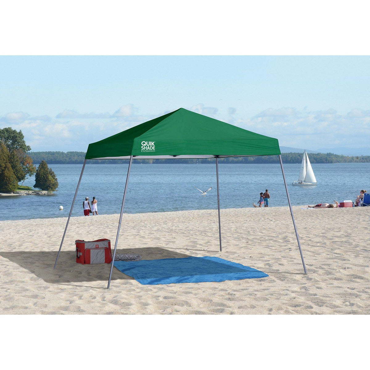 Quik Shade Expedition EX64 10 x 10 Slant Leg Instant Canopy