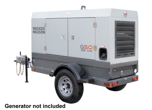 MGT2E Mobile Generator Trailer, Electric, 6000LB Axle