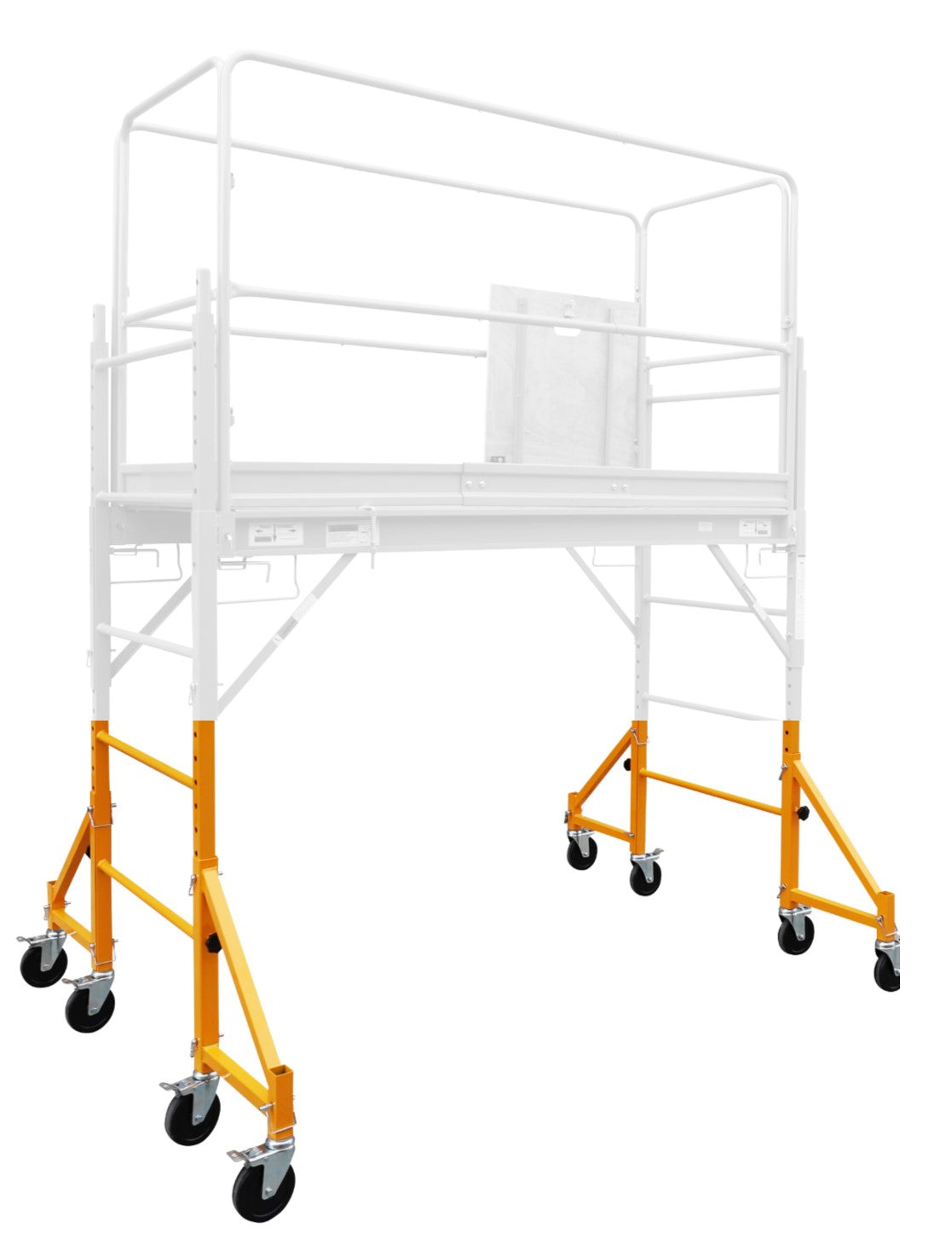 4 Outriggers with Locking Pins for 6' or 12' scaffold OSHA Approved