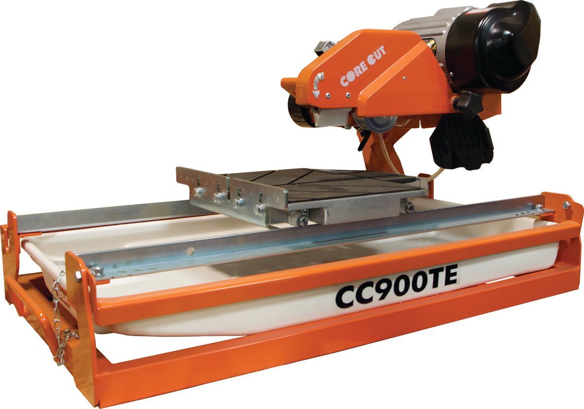 "CC900TE, Electric Tile Saw with 10"" Blade Capacity"