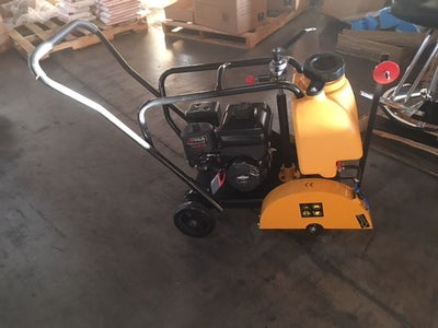"6.5HP 196CC 12"" or 14"" Concrete Cut Off Saw Walk Behind W/ Tank EPA Certified"