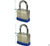 50mm 1 1/2 steel laminated 2 1/2'' padlock new (1pc)