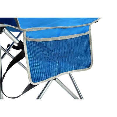 Quik Shade Full Size Shade Folding Chair, Royal Blue