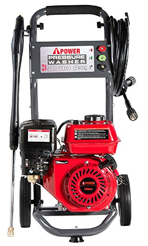 A-iPower 2,700 PSI 2.3 GPM OHV Engine Axial Cam Pump Gas Pressure Washer