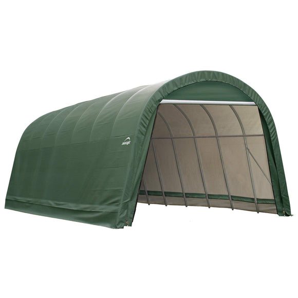 ShelterLogic Garage 15 x 20 x 12  Round Standard Green