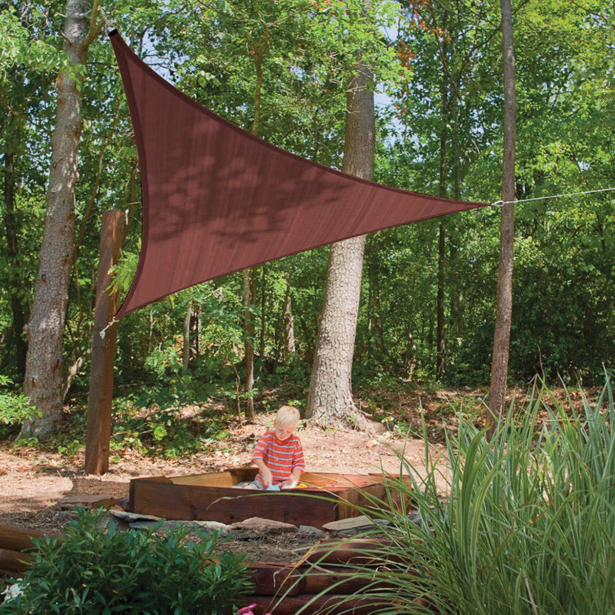 ShelterLogic Triangle Shade Sail