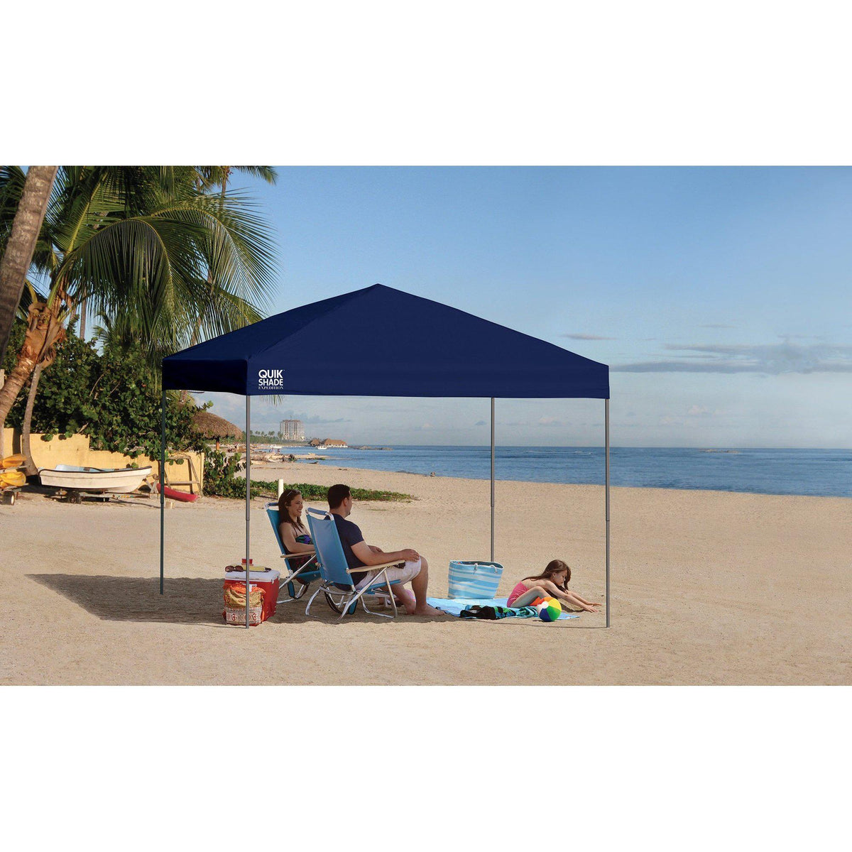 "Quik Shade Expedition 100""Team Colors"" 10'x10'."