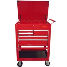 5 Drawers Rolling Tool Cart 700 lbs Capacity