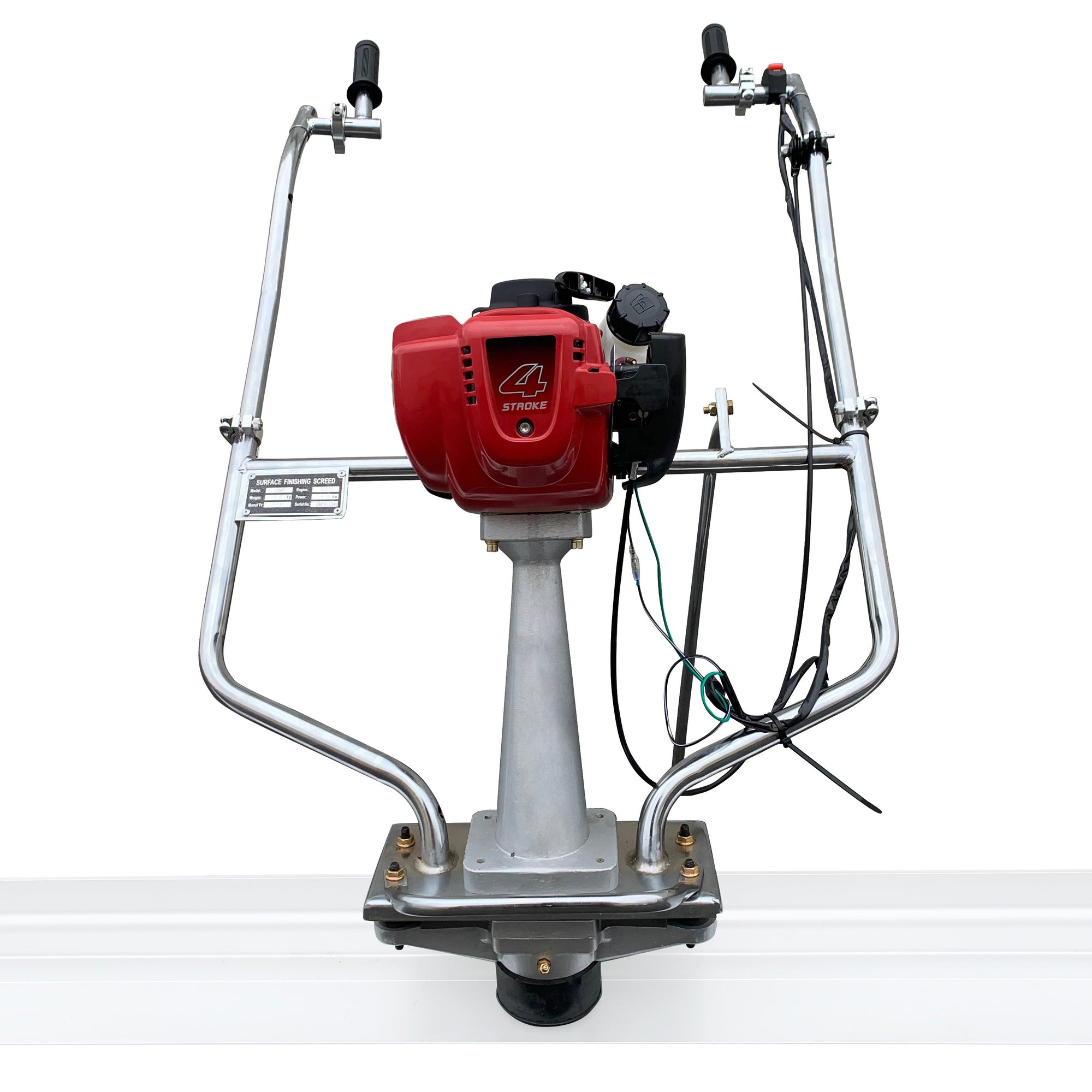 Honda Vibrating Gas Concrete Power Screed ENGINE ONLY Surface Finishing Float