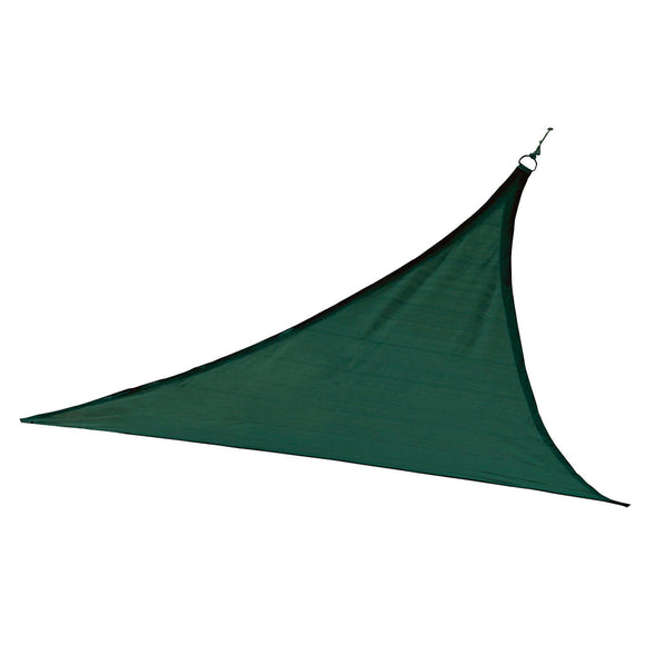 ShelterLogic Triangle Shade Sail, Evergreen, 12 x 12 x 12 ft.