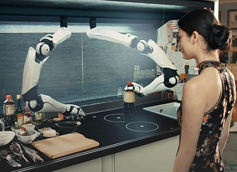 MOLEY KITCHEN - Fully Autonomous Robotic Kitchen