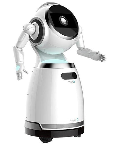 | Coming Soon | CRUZR - Cloud-Based Intelligent Humanoid Service Robot